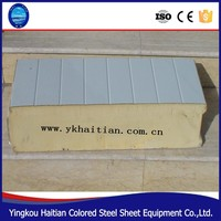 roof sandwich panel price used cold room panel pu sandwich roofing panel