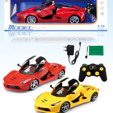 1:10 5 Channel rc super car with key door model Child Elate toy