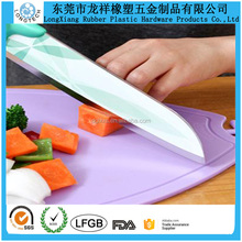 2016 New arrival Non-slip Durable Kitchenware Silicone Chopping Cutting Board vegetable cutting board