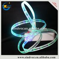 Top quality flat noodles neon light led charging usb cable for Iphone 5s/6/6s