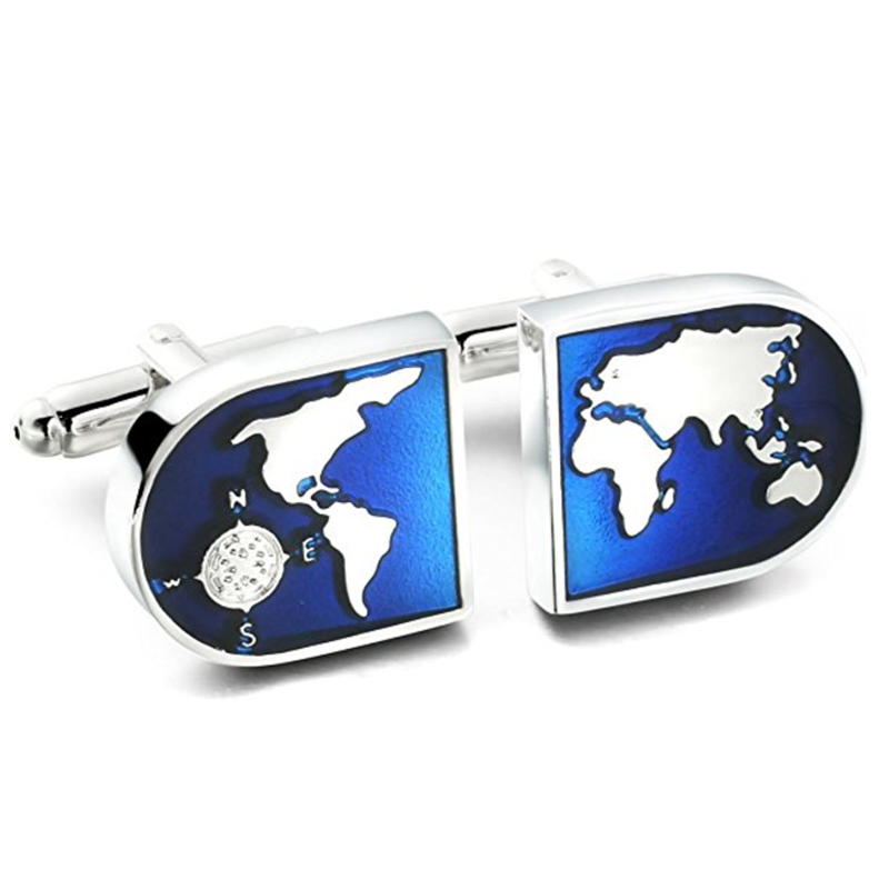2017 factory price durable stainless steel custom cufflink