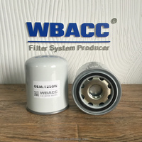 WBACC Truck Black Air Dryer Filter Cartridges With Iron Inner Container Hengst Air Dryer T250W