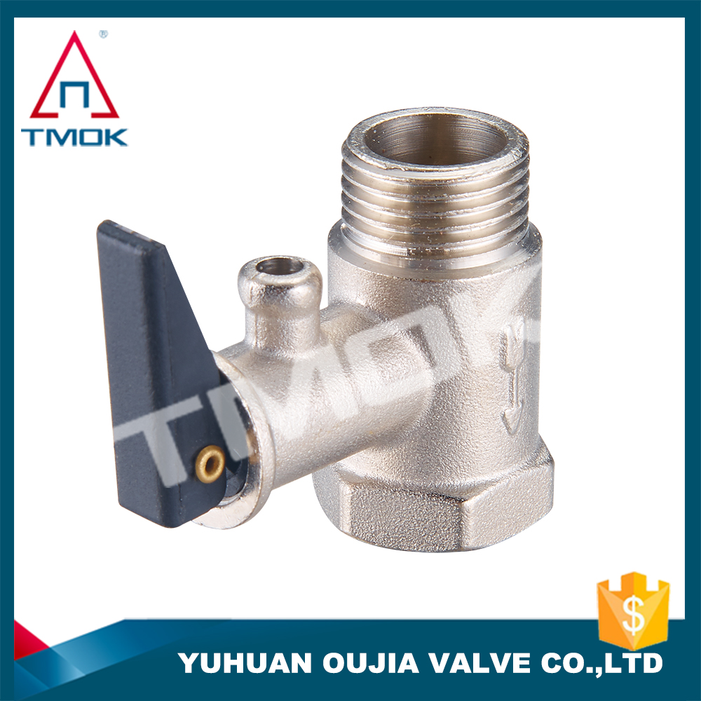 "pressure relief reducing water control valve safety valve sping full port forged gas regulator connector pipe 1/2"" brass materia"