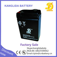 rechargeable lead acid 6v 4ah battery