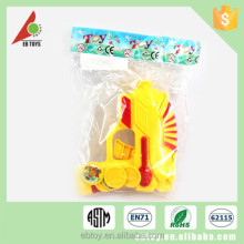 Popular safe children cartoon summer plastic gun toy