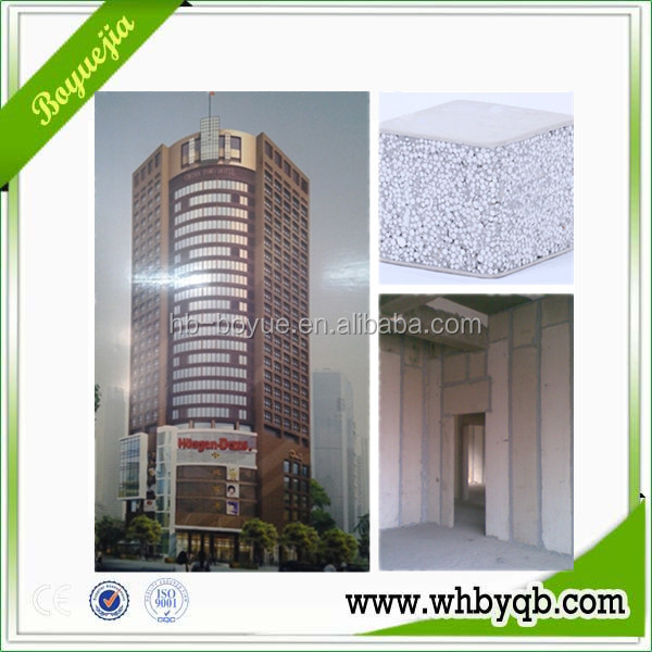 EPS Lightweight Construction Wall Partition Materials