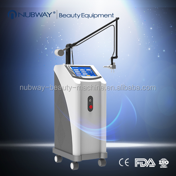 American imported RF tube co2 laser fractional for pigment removal, wrinkle,acne,scar removal