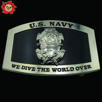 fashion military style belt buckle