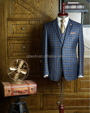 Bespoke One Button Side Vent Slim Fit Groom Men's Suits Tailored 2 Pieces Set (Jacket+Pants+Tie)