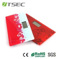 red small bathroom weight scales weighing digital bathroom scale