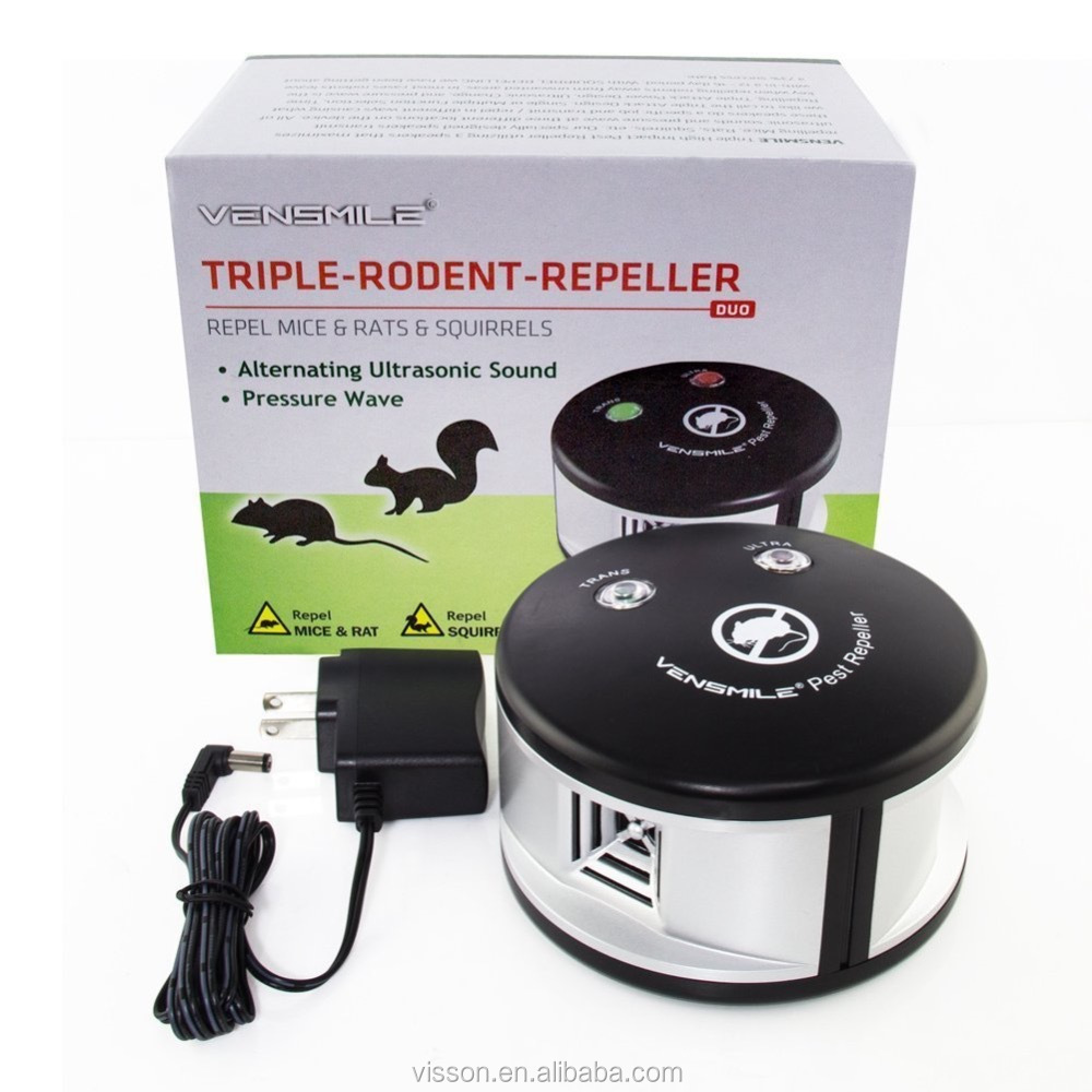EPA approved Triple High Impact Mice Rat Rodent Mouse Mole Pest Insect Repeller-multiple pest repeller,Ultrasonic Pest Deterrent