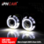 Car parts accessories square headlight hid xenon bulbs headlight projector lens with light guide angel eyes