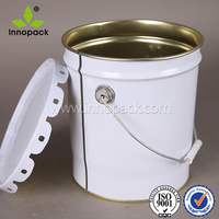 5 gallon oil containers paint metal drum with lid wholesale