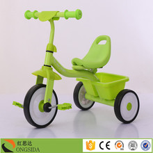 2017 Cheap best selling hot sale three wheels kids baby tricycle/children kids trike ride on car type tricycle with push bar