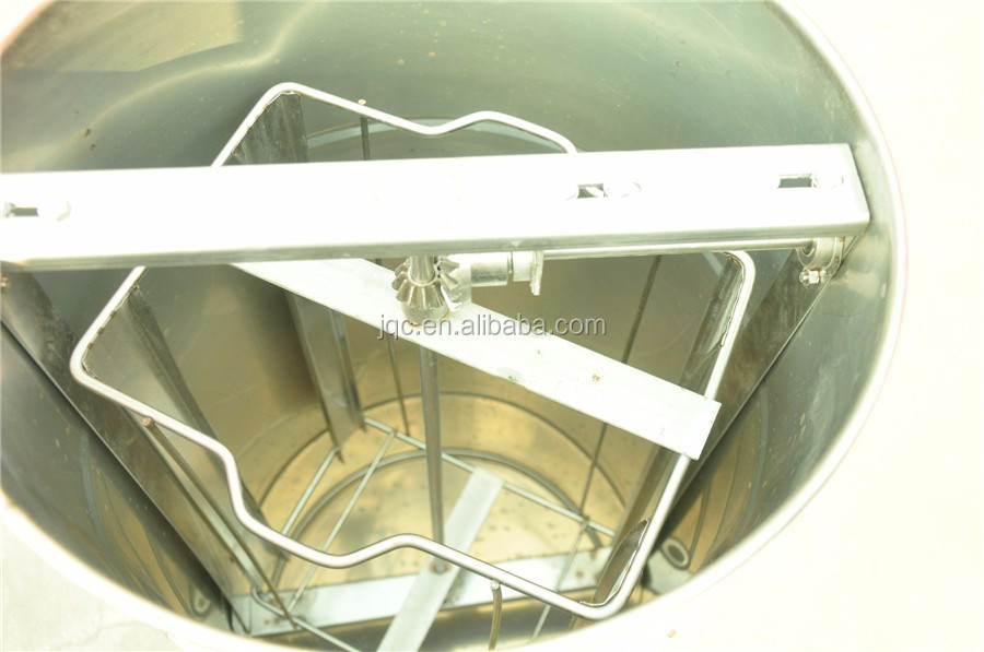 Manual 4 Bingkai Anti Karat Honey Extractor