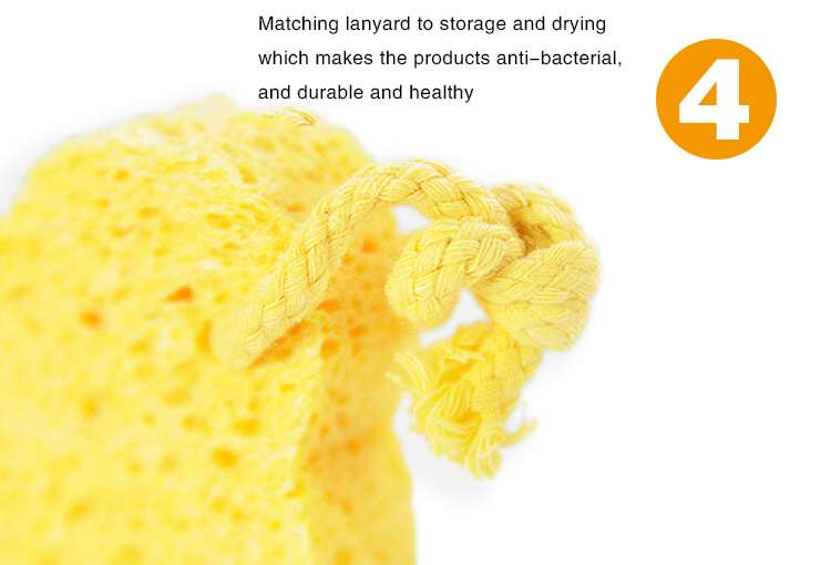 China Wholesale Natural Dish Washing Cleaning Custom Shape Cloth Block Bulk Compressed Cellulose Sponge For Washing Dishes