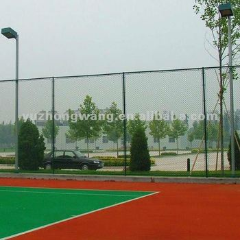 GREEN PVC/PLASTIC COATED CHAIN LINK FENCE TO PLAYGROUND