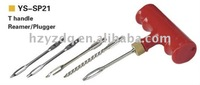 YS-SP21 5pcs lowest price with best quality tyre repair kit,vacuum tire repair tools combined