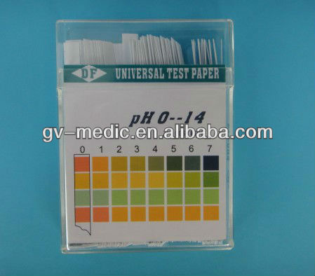 pH test strips 1-14