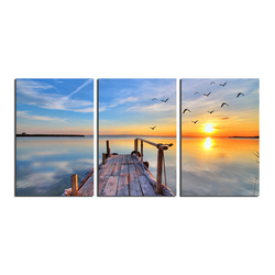 2018 Decorative Landscape Wall Art 280gsm Polyester Canvas Printing