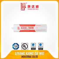 Thermal conductive fire resistant adhesive sealant