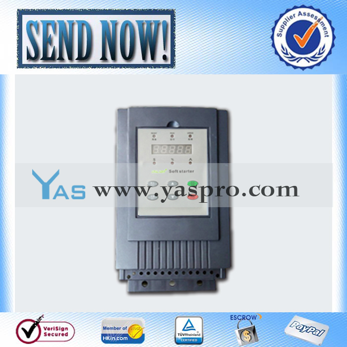 high performance built in bypass 3 phase motor soft starter IAS6-055KW-4