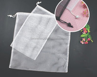 Best selling Washing bag recycled drawstring wholesale mesh laundry bag