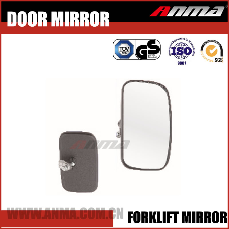 Universal rear view panoramic acrylic forklift mirror car auxiliary mirrors
