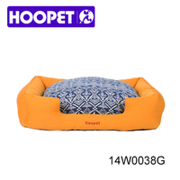 Professional pet products manufacturer denim dog bed