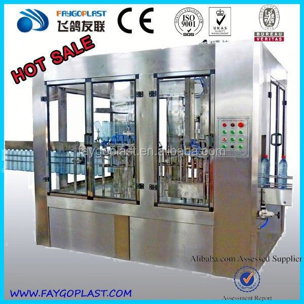Automatic Mineral Water Filling Plant Cost Alibaba China Supplier pure water filling and sealing machine