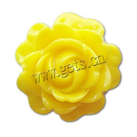 Gets.com large resin rose flower cabochon