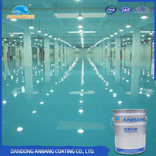 AB-DP-300M bathroom 3D floor clear epoxy floor paint and coatings