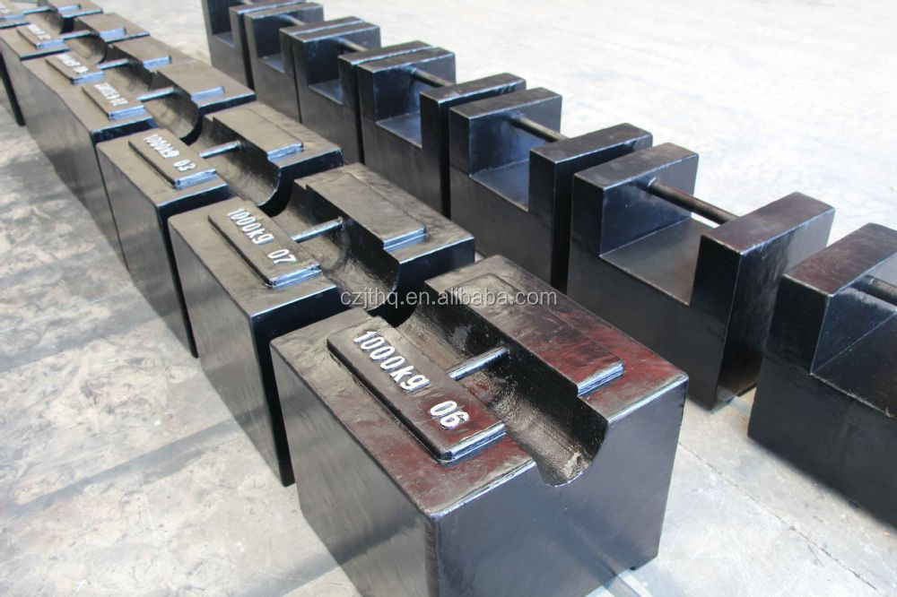 2 ton weights/500kg test weight/stainless steel weights