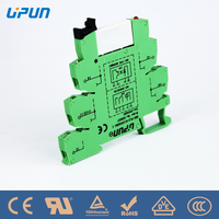 PLC Relay UDK-PLC-RI 230Vac/dc solid state relay china supplier upun din rail mounted relay