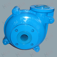 Pressure Centrifugal metal lined centrifugal slurry pumps price