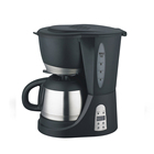 Digital drip coffee maker with LCD Display, coffee maker with stainless steel jar