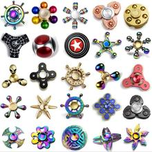 2017 Hot new products Children hobbies toys alloy gem fidget spinner