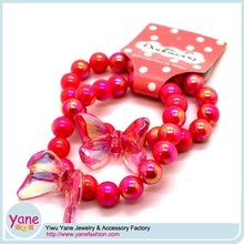 Glitter bracelet accessories girls handmade beaded hair accessory