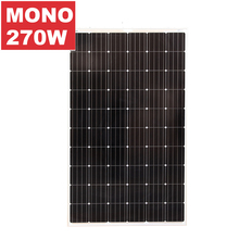 200W 250W 300W Monocrystalline flexible solar panel for home use / mono best solar panel price