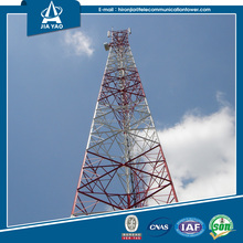 Qualified 3-legged angular GSM steel communication tower