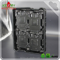 High quality black plastic PCB vacuum formed tray ,antistatic ESD tray