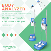 Multifrequency accurate BIA whole body testing machine / body composition analyzer machine