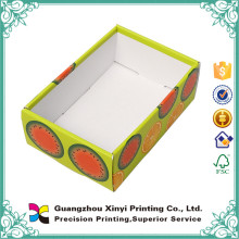 High quality Custom display tray paper box south china printing company