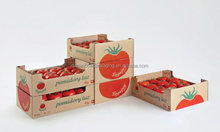 cardboard paper tomato box for packaging