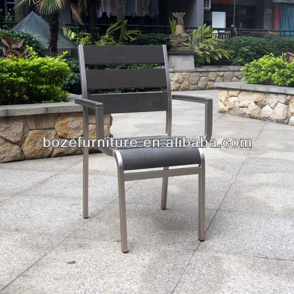 Garden outdoor furniture / plastic wood chair