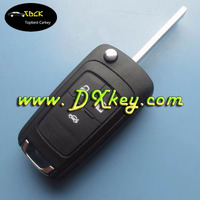 Factory price 3 button replacement flip key for chevrolet cruze key