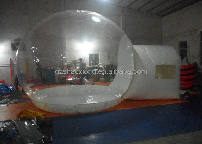 High Quality Outdoor Inflatable Clear Camping Bubble Tent /Outdoor PVC Camping Bubble Tent Clear Inflatable Lawn Dome Tent For P