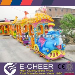 BV,ISO certified track train cheap outdoor entertainment equipment