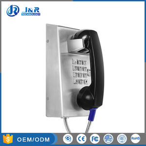 analogue sip voip vandal proof jail hands free handset inmate public telephone