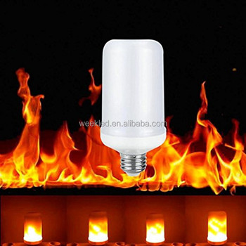 2017 New product 5w flicker Led flame light like fire effect